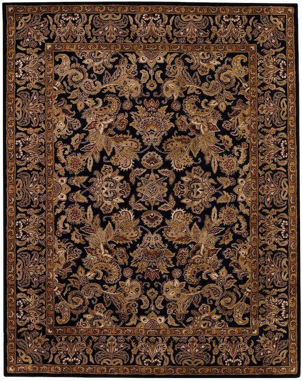 Capel Incorporated Floor Coverings Regal Flora Rug 3367rs Black