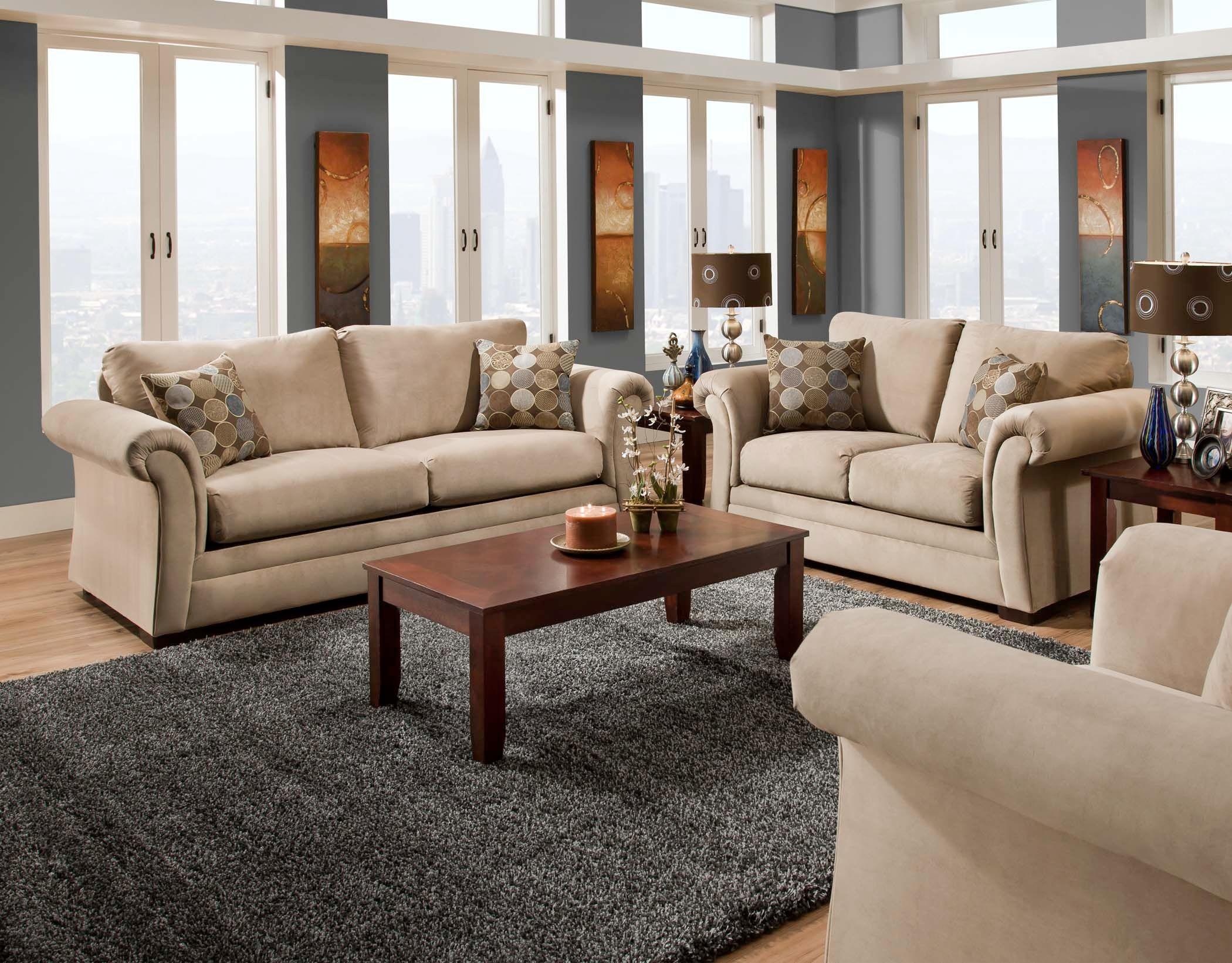American Furniture Manufacturing Sofa 1003 6801
