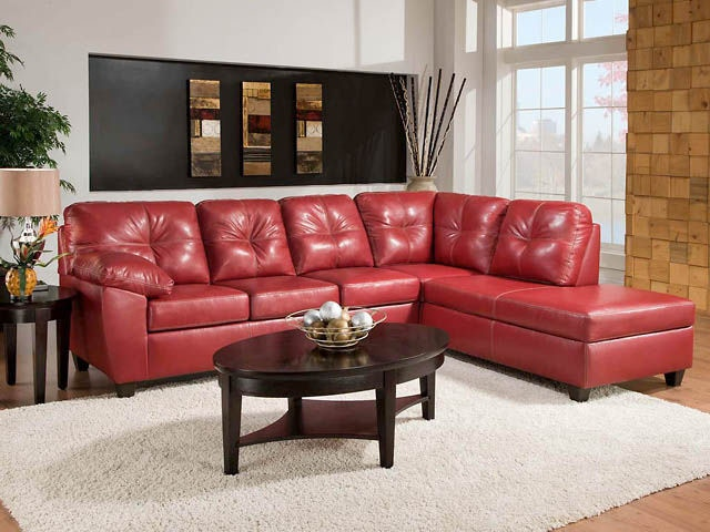Charmant American Furniture Manufacturing 2 Piece Sectional 1470 Thomas Cardinal  Sectional