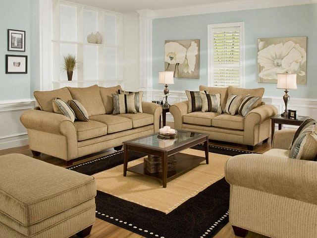 American Furniture Manufacturing Sofa 3703 3921