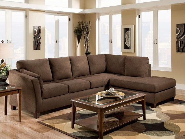 American Furniture Manufacturing 2 Piece Sectional