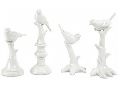 IMAX Corporation Ik Bird Statuary - Set Of 4 10330-4
