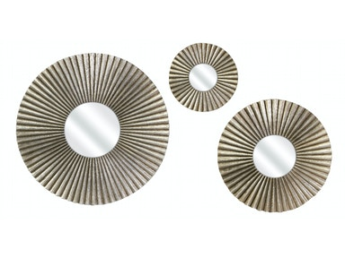 IMAX Corporation Piper Round Mirrors - Set Of 3 10431-3