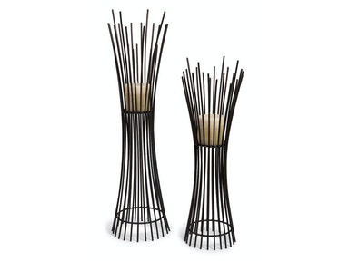 IMAX Corporation Metal Candleholder Duo - Set Of 2 10657-2