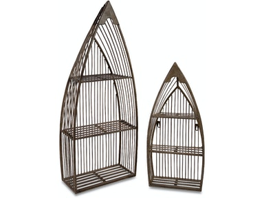 IMAX Corporation Nesting Boat Shelves - Set Of 2 10667-2