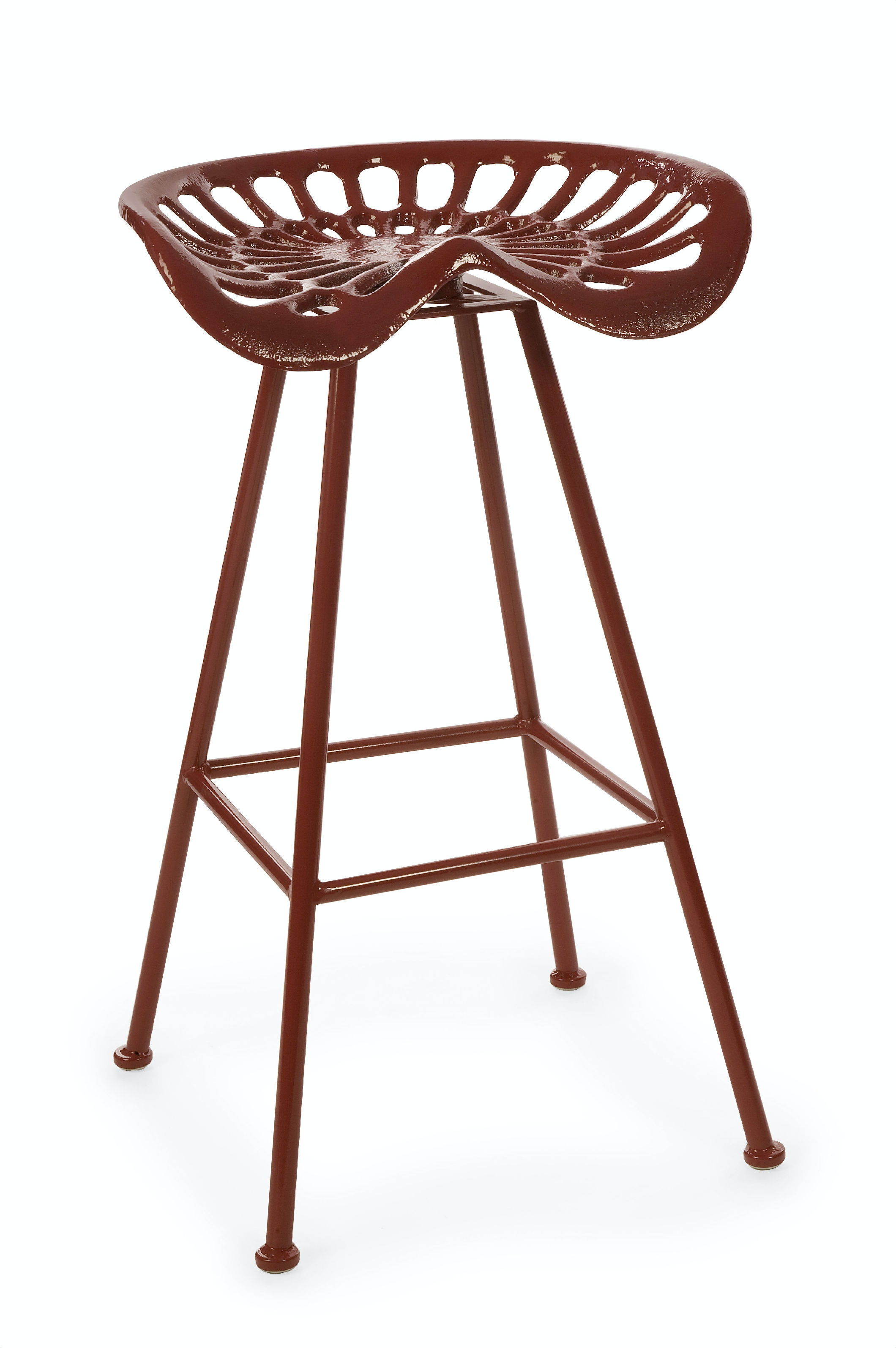 IMAX Corporation Leroy Tractor Seat Stool IX10781 From Walter E. Smithe  Furniture + Design