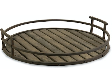 IMAX Corporation Vermont Iron And Wood Tray 10812