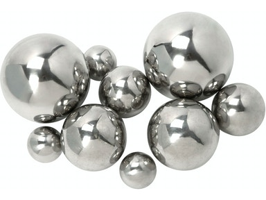 IMAX Corporation CKI Abbott Steel Decorative Ball - Set of 9 10889-9