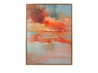 IMAX Corporation Messer Oil On Canvas With Frame 11504