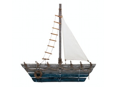 IMAX Corporation Marlin Bamboo Ship Wall Decor 11614