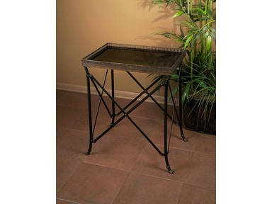 IMAX Corporation Rectangular Black Accent Table 12003