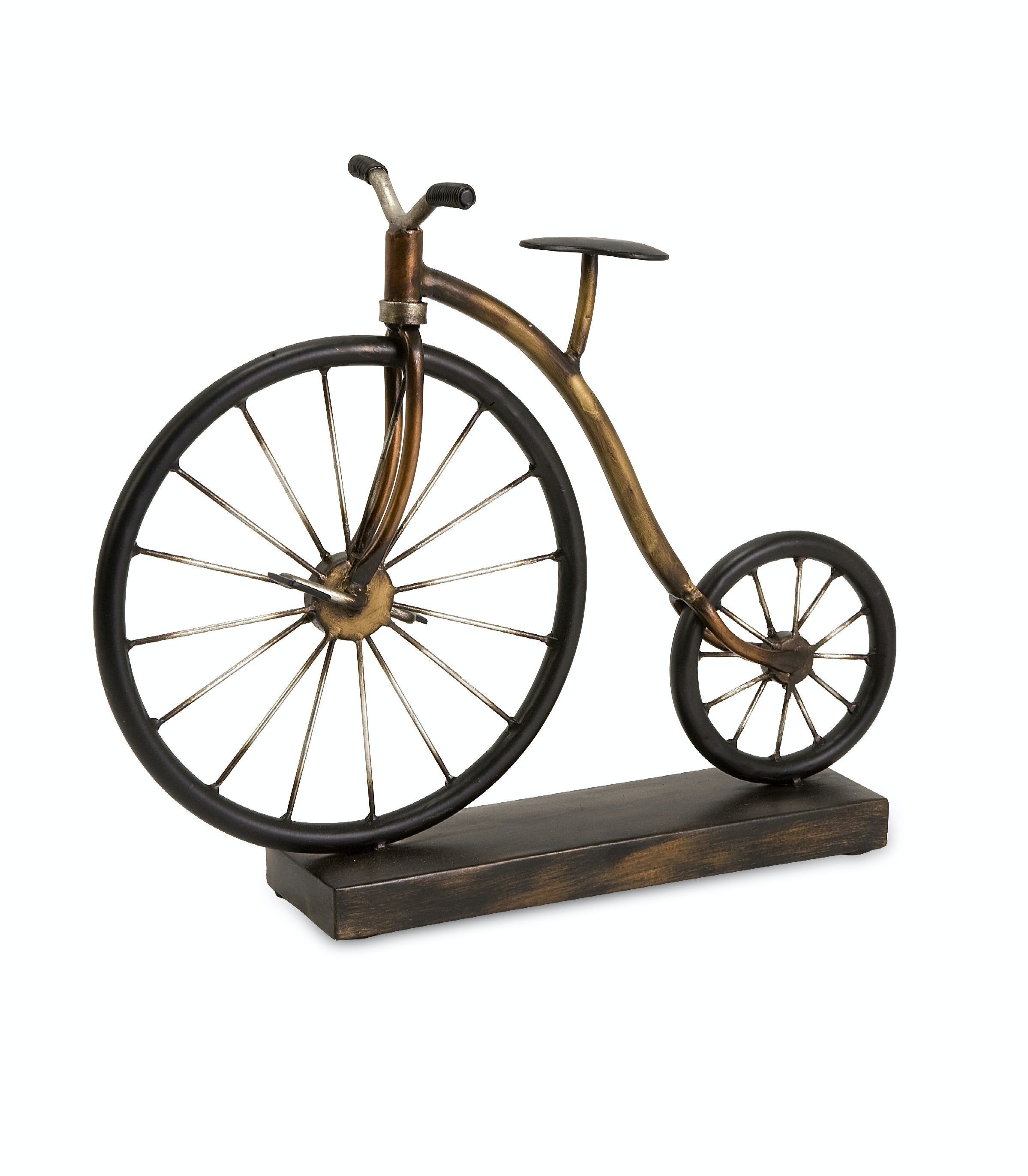 Imax Corporation Accessories Big Wheel Bicycle Statuary