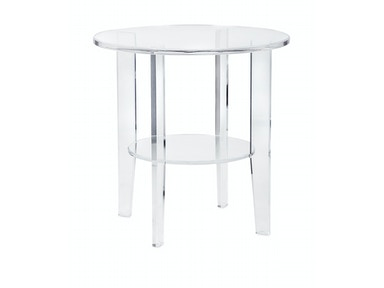 IMAX Corporation Estelle Acrylic Accent Table 13215