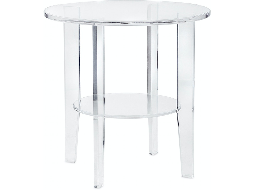 Imax Corporation Living Room Estelle Acrylic Accent Table
