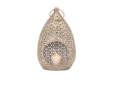 Imax Corporation Lamps And Lighting Teardrop Large Lantern