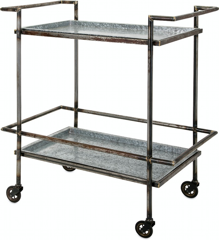 Imax Corporation Bar And Game Room Percy Bar Cart
