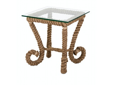 IMAX Corporation Tranquil Jute Accent Table 14492