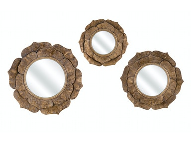 IMAX Corporation Wanderings Wall Mirrors - Set of 3 14521-3