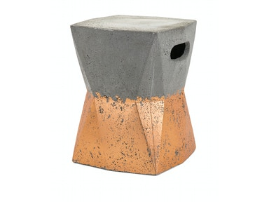 IMAX Corporation Camden Cement Stool 14554