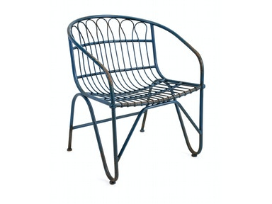 Layton Metal Arm Chair