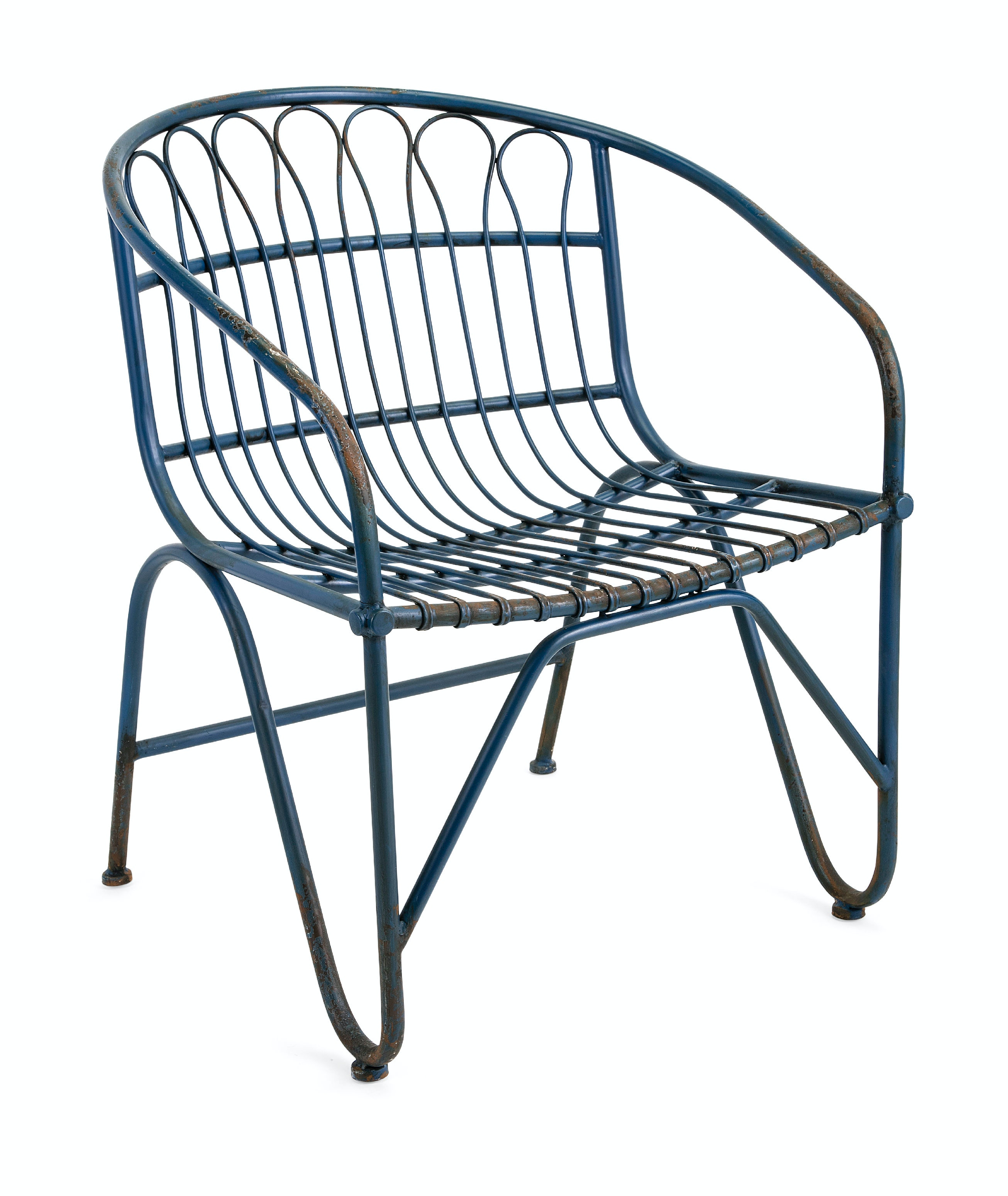 Perfect Layton Metal Arm Chair