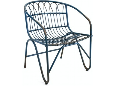 IMAX Corporation Layton Metal Arm Chair 19233
