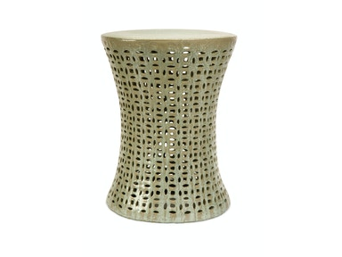 IMAX Corporation Moers Cutwork Garden Stool 25062