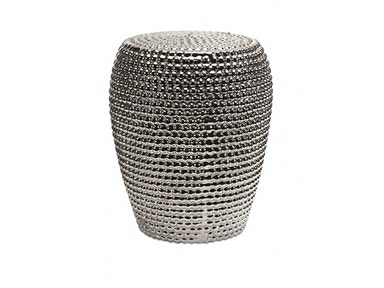 Wright Metallic Garden Stool