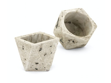 IMAX Corporation Jaxon Wall Flower Pots - Set of 2 25606-2