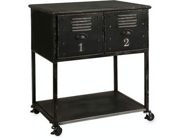 IMAX Corporation Alastor Rolling Cart Table - 2 Drawer 27687