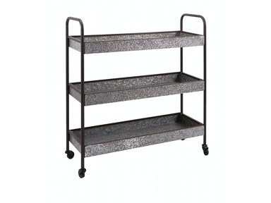 IMAX Corporation Homestead Galvanized Shelf 30016