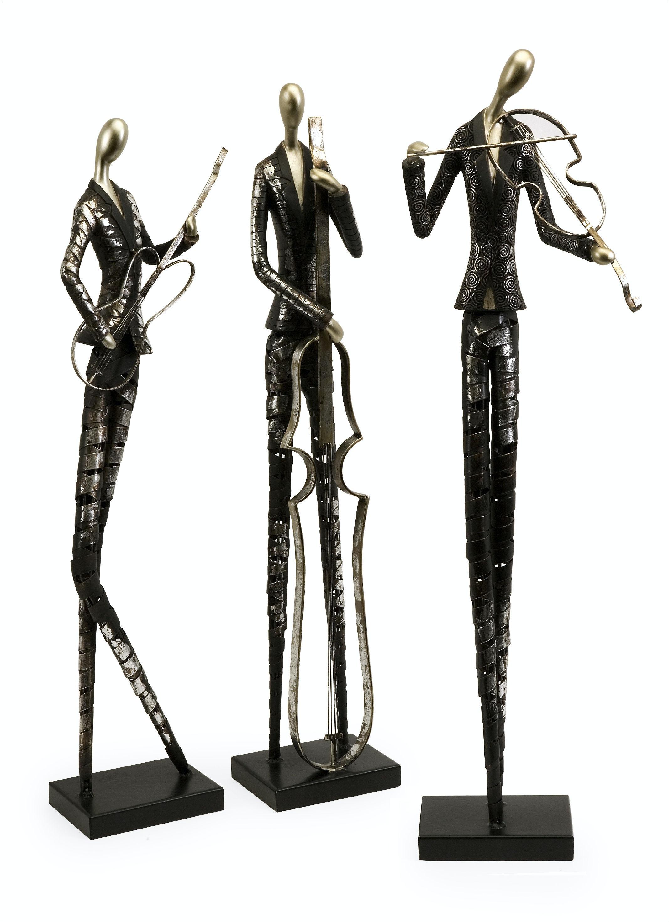 Imax Corporation Accessories Jazz Club Musician Statuaries