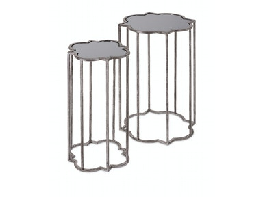 Acworth Silver Leaf Tables - Set Of 2