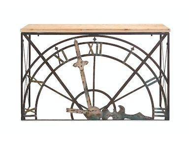 Half-Clock Console Table