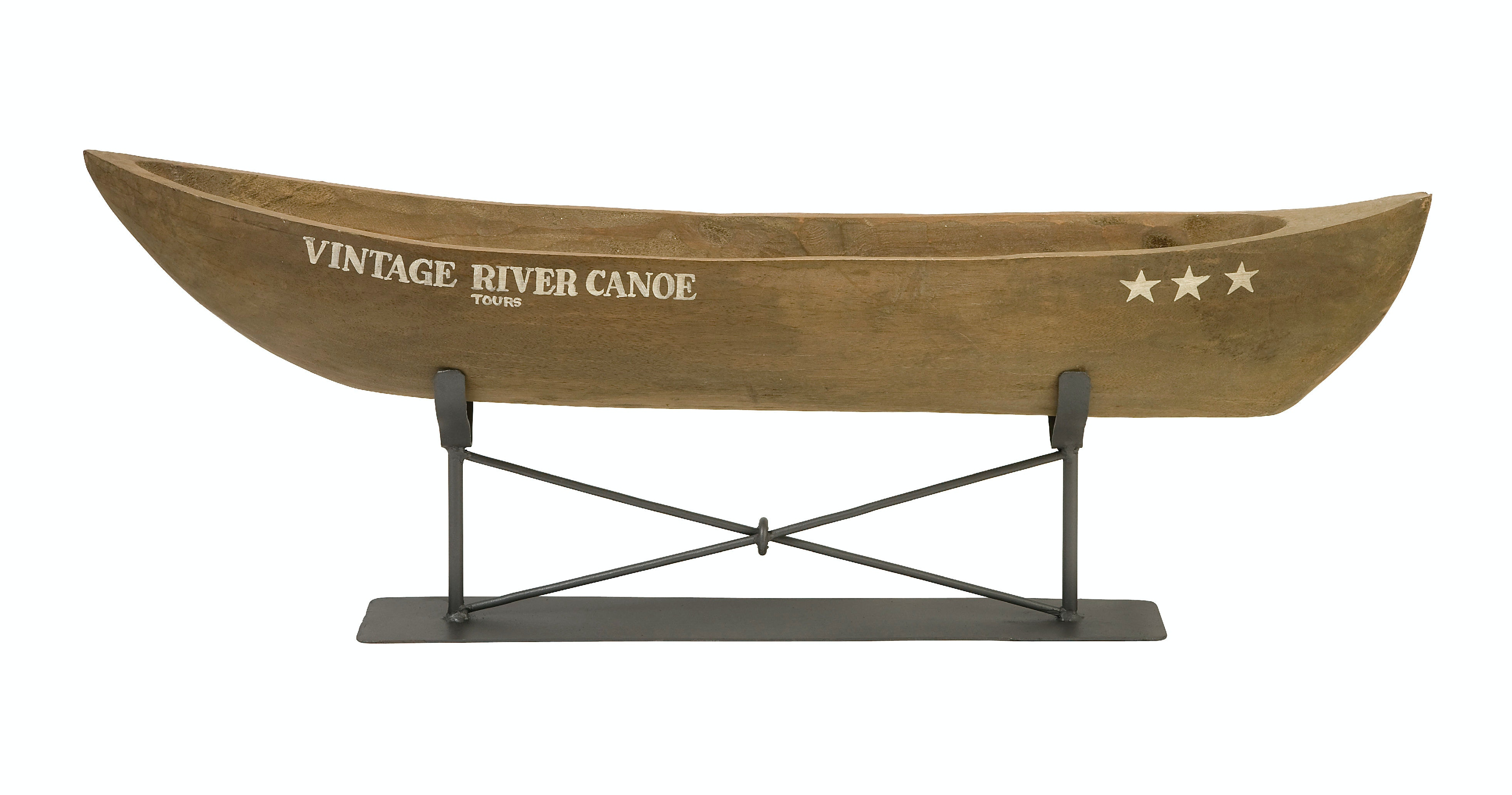 Vintage looks furniture White Gold Imax Corporation Accessories Vintage River Canoe On Metal Stand 84310 At Indian River Furniture Trixieroqueme Imax Corporation Accessories Vintage River Canoe On Metal Stand