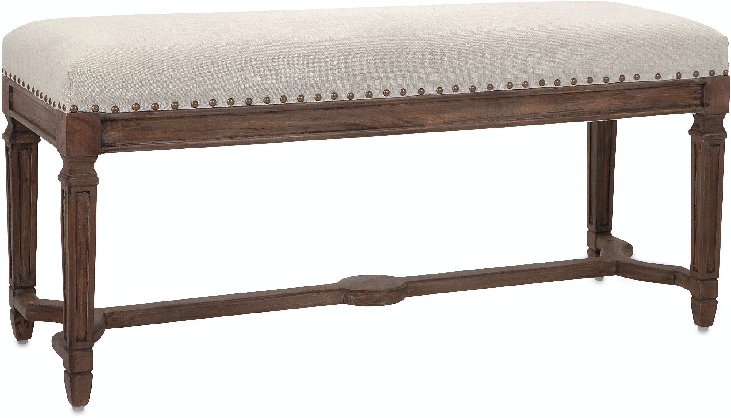 Imax Corporation Living Room Grayson Upholstered Bench
