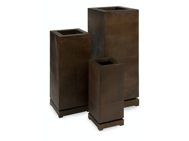 Ck Tall 5th Avenue Planters - Set Of 3