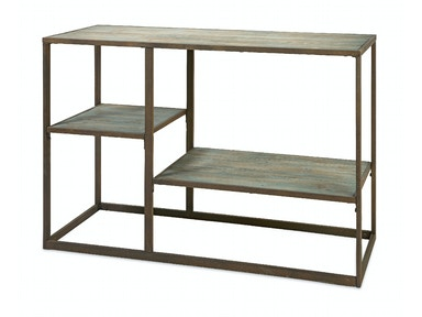 IMAX Corporation Jestlin Wood and Iron Shelf 87371