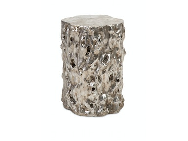 IMAX Corporation Daniel Silver Tree Stool 87882