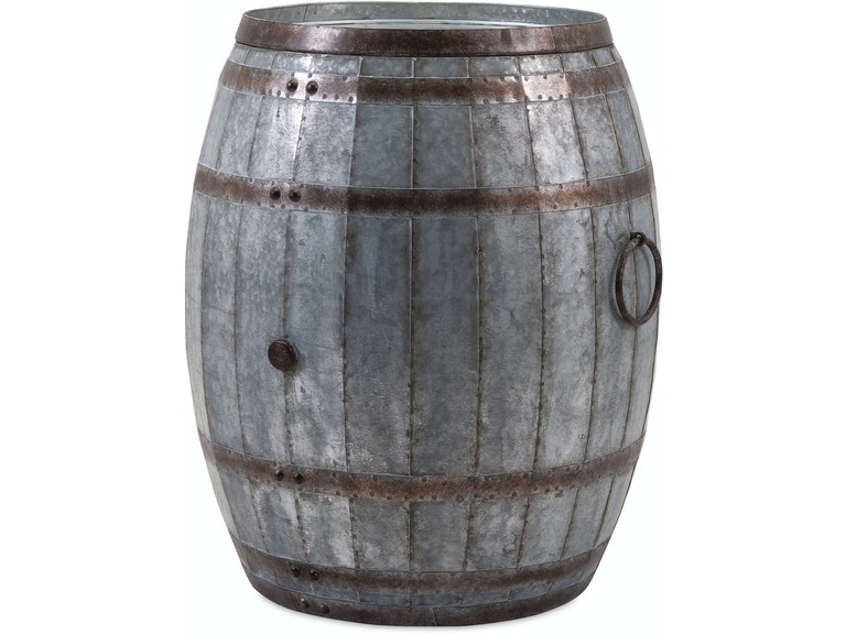Vineyard Wine Barrel Storage Table Ix88707