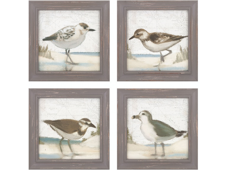 Sea Bird Wall Decor - Ast 4 A0497319