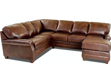 Comfort Design Living Room Loft Sectional Cl4032 Sect North