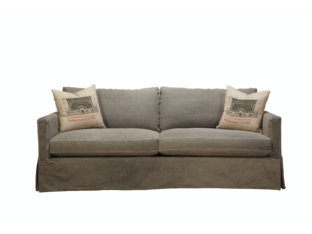Southern Furniture Living Room Mebane Slipcover Sofa 58001 Whitley Furniture Galleries