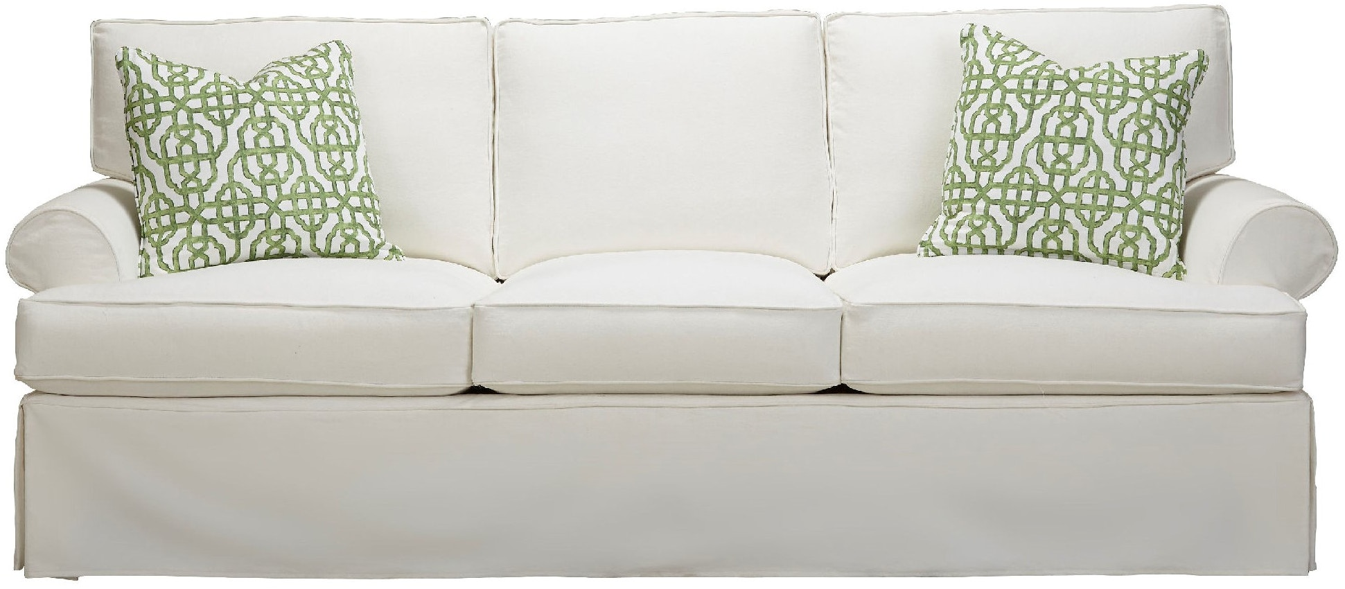 Southern Furniture Living Room Sarah Slipcover Sofa 58371 Whitley