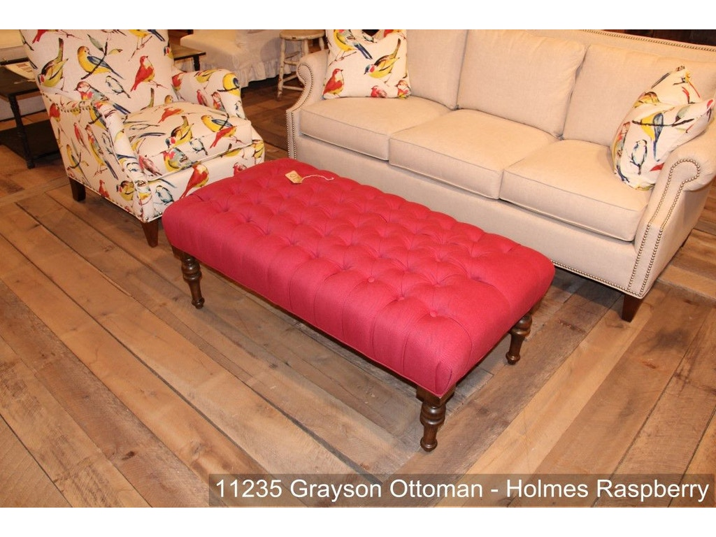 Southern Furniture Living Room Grayson Cocktail Ottoman 11235 Hickory Furniture Mart Hickory Nc