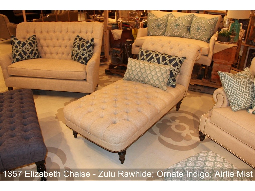 Elizabeth chaise wes1357 for Walter e smithe living room