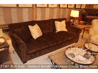 Southern Furniture Living Room Burt Sofa 8ft 21361 Aaron S Fine