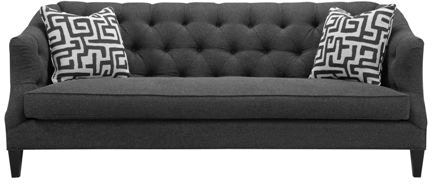 Southern Furniture Living Room Camby Bench Seat Sofa 2 Tps 25261