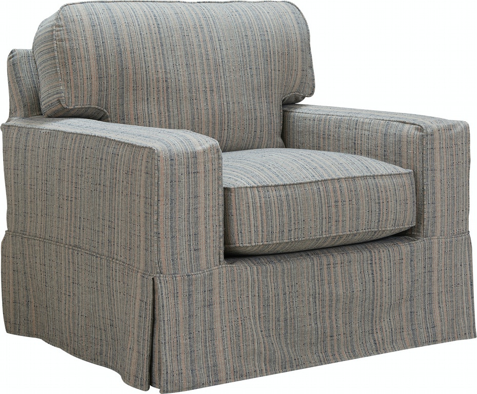 Southern Furniture Living Room Alexa Slip Cover Chair