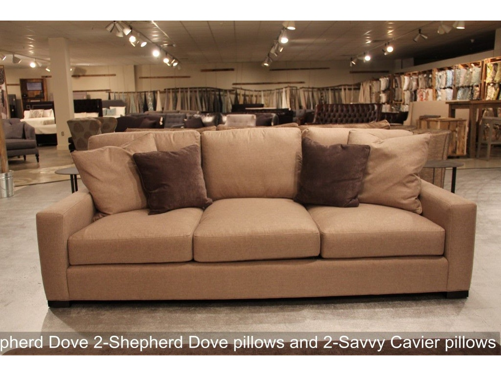 Southern Furniture Living Room 8ft 46 D Hunter Sofa 41101
